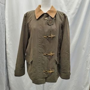 Chaps olive green jacket